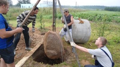 Копка колодцев в Суздальском районе
